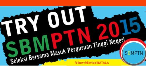SBMPTN 2015, Try Out SBMPTN 2015, Latihan Soal SBMPTN 2015, Kuota SBMPTN, Soal SBMPTN