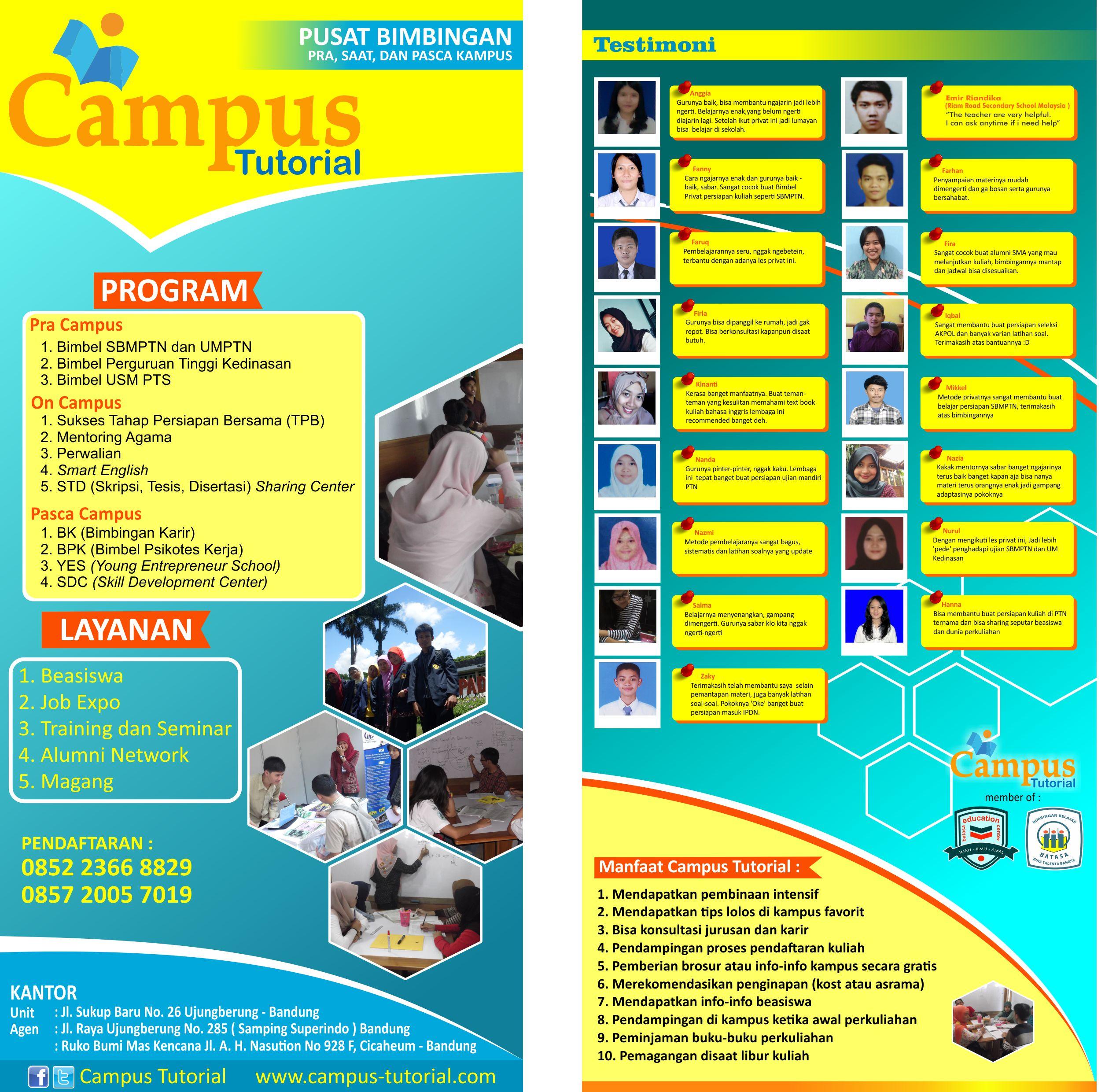 Pendaftaran Siswa Baru Bimbel Batasa 2017 2018 Tk Sd Smp Sma